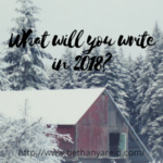 Your Next Writing Prompt
